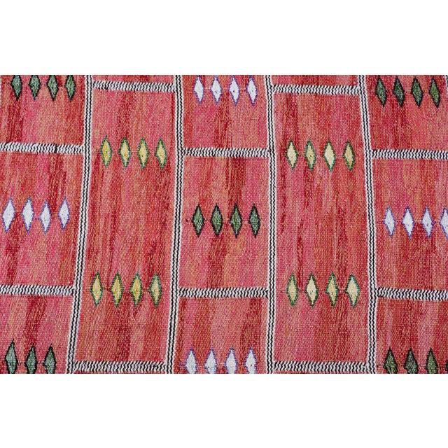 Vintage Carl Dagel Flat-Weave Swedish Carpet - Image 4 of 8