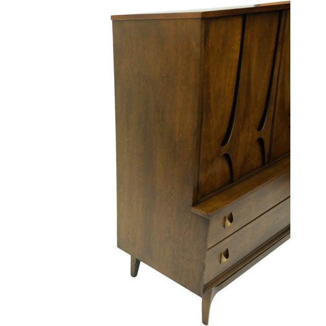 Mid-Century Brasilia Broyhill Highboy Dresser - Image 10 of 10