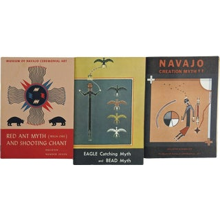 Navajo Myths & Chants - Set of 3