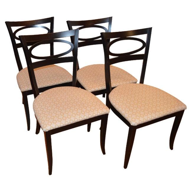 Arhaus furniture modern dining chairs set of 4 chairish for Arhaus furniture