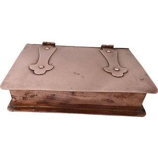 Antique Celtic Copper Box