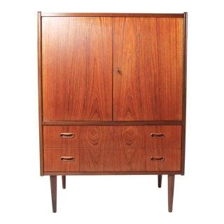 Vintage Danish Modern Teak Highboy Dresser