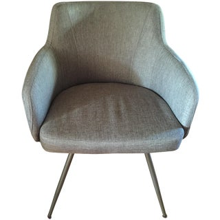 Mid-Century Modern Style Upholstered Accent Chair