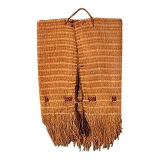 Wall Hanging Native American Woven Bag