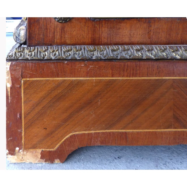 Antique French Style Marquetry Secretary - Image 10 of 11