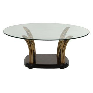 Henredon Glass Top Coffee Table