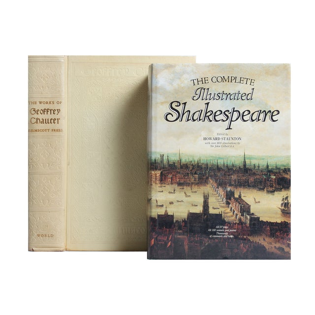 Image of Shakespeare & Chaucer Gift Set - S/2