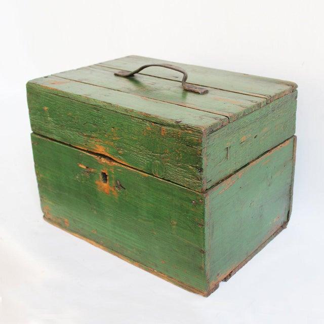 Image of Hungarian Green Storage Box