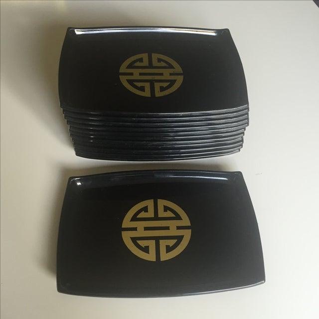 Vintage Appetizer Plates - Set of 12 - Image 5 of 9