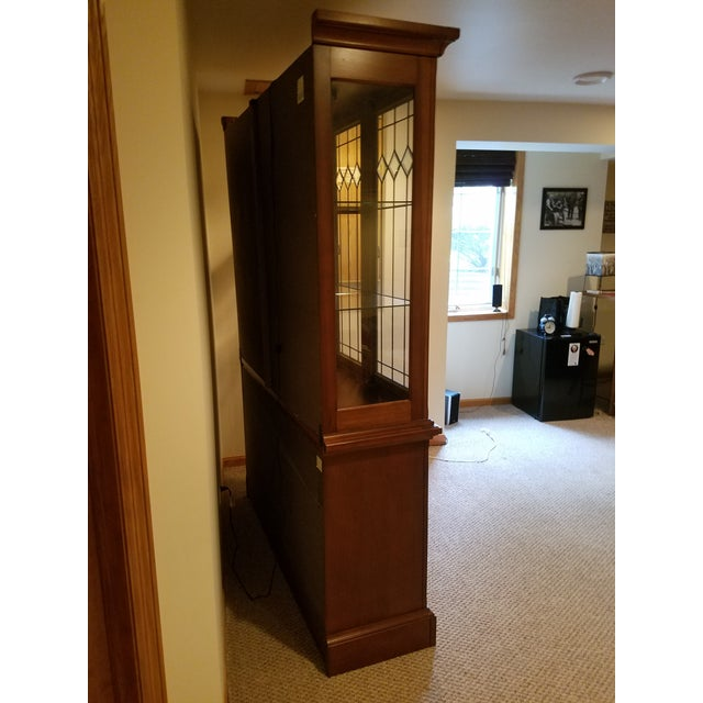Wooden China Cabinet - Image 4 of 11