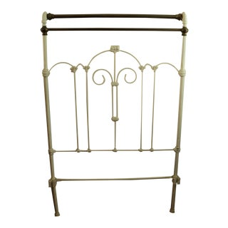 Antique Victorian Twin Iron & Brass Bed