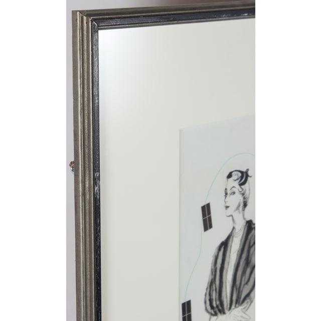 Mid-Century Fashion Advertisement Mock-Up - Image 3 of 3