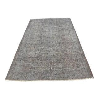 Oushak Anatolian Tribal Carpet - 5′1″ × 8′2″