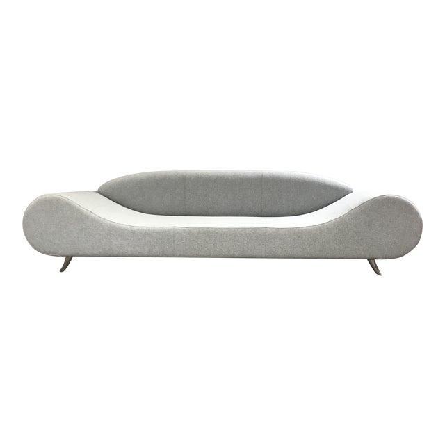 Light Gray Modern Concept Sofa - Image 1 of 6