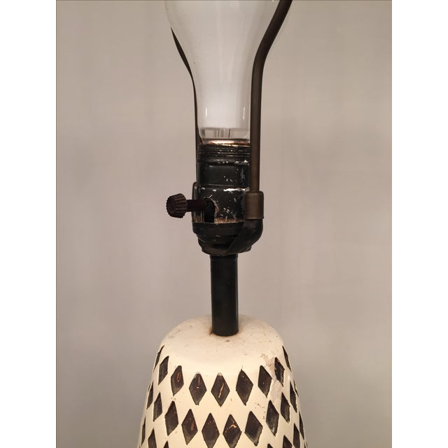 Image of Mid-century Surrealist Table Lamp