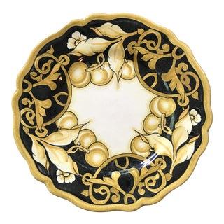 Handpainted Italian Versace Dessert Plates - Set of 6