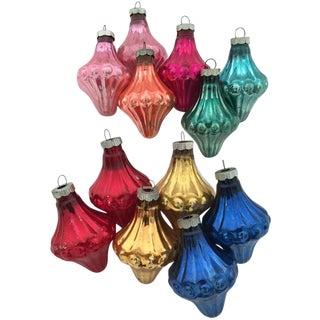 Vintage Shiny Brite Lantern Ornaments - Set of 12