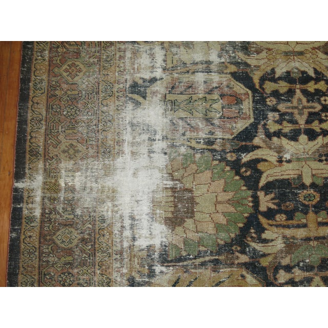 Distressed Persian Sultanabad Rug - 8'7'' x 11'9'' - Image 3 of 10