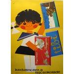 Image of Original Hungarian Swinging 60's Chocolate Poster