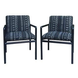 Ward Bennett Mid-Century Lounge Chairs - A Pair