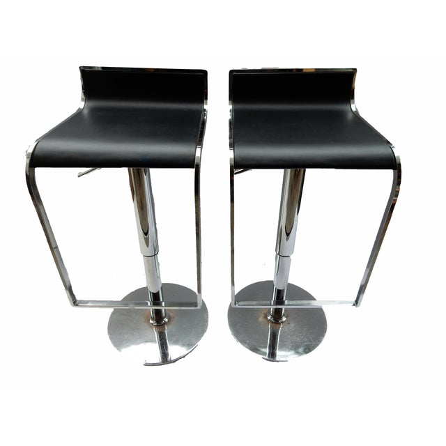 Chrome Swivel Counter/Bar Stools - A Pair - Image 1 of 6
