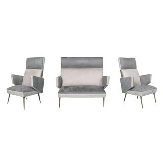 Mid-Century Modern Three-Piece Suite