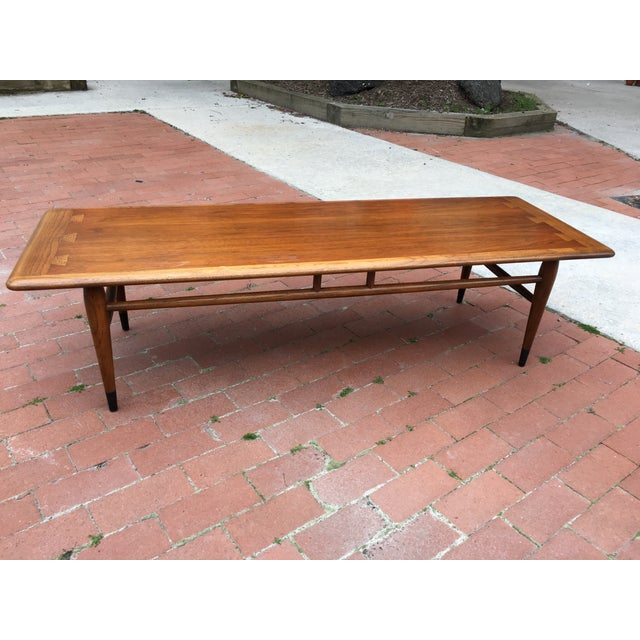 Mid-Century Lane Acclaim Dovetail Coffee Table - Image 2 of 7