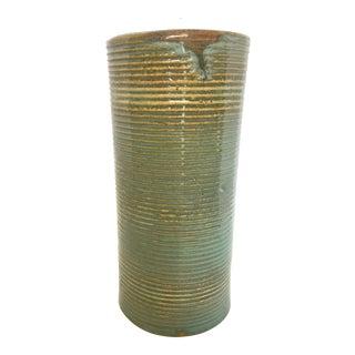 Mid-Century Large Zanesville Stoneage Studio Pottery Vase