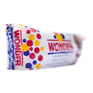 'Wonder Bread' on Its Side Facing Right Photograph