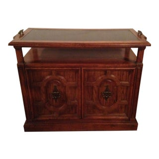 Small Wooden Buffet Table