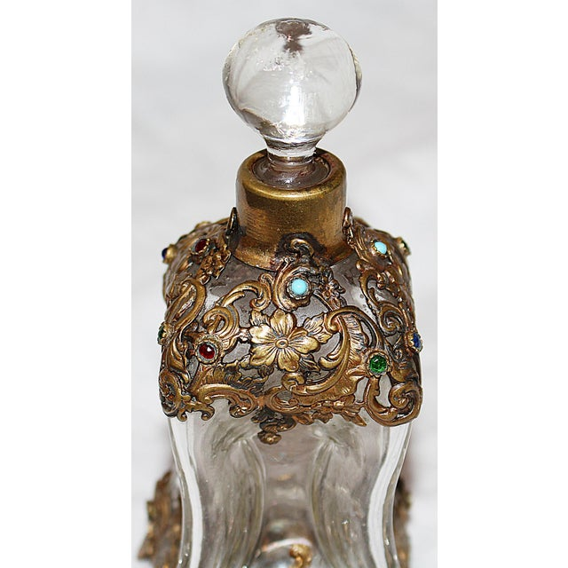 Hollywood Regency Perfume Bottle - Image 4 of 7
