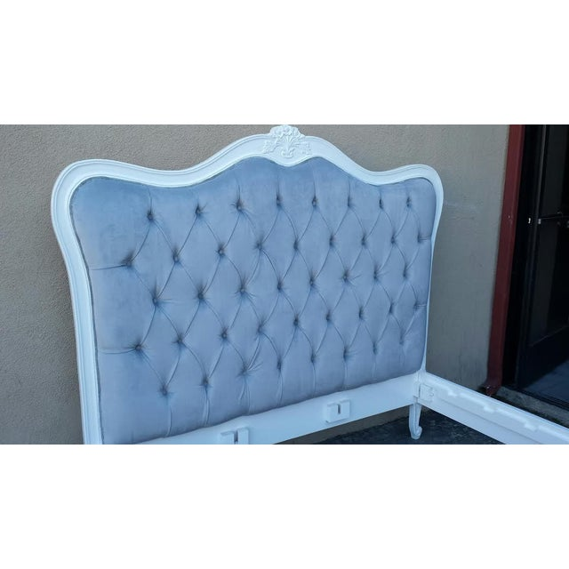 Image of French Style Tufted Bed Frame - King Size