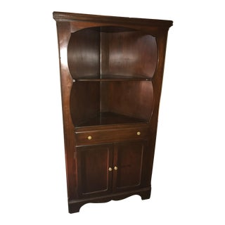 American Corner Cabinet by the West Warren Manufacturing Company