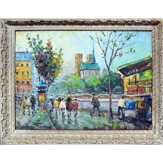 "Ferrari ""Rive Gauche"" Painting"