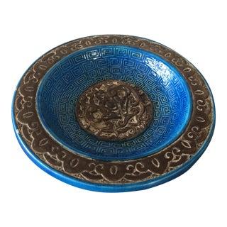 Blue Italian Bitossi Bowl