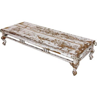Vintage White Shabby Chic Coffee Table