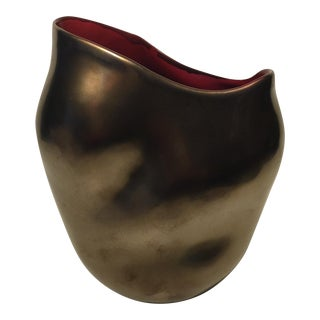Modern Bronze Vase