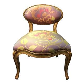 Grace Designs Silk & Velvet Vanity Chair