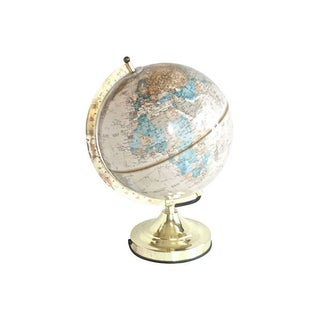 1980s World Globe Light