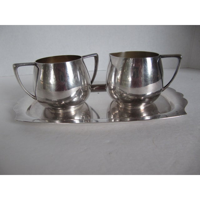 Empire Crafts Silver Plate Serving Set - Set of 3 - Image 2 of 5
