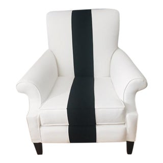 Vintage Black & White Willoughby Chair