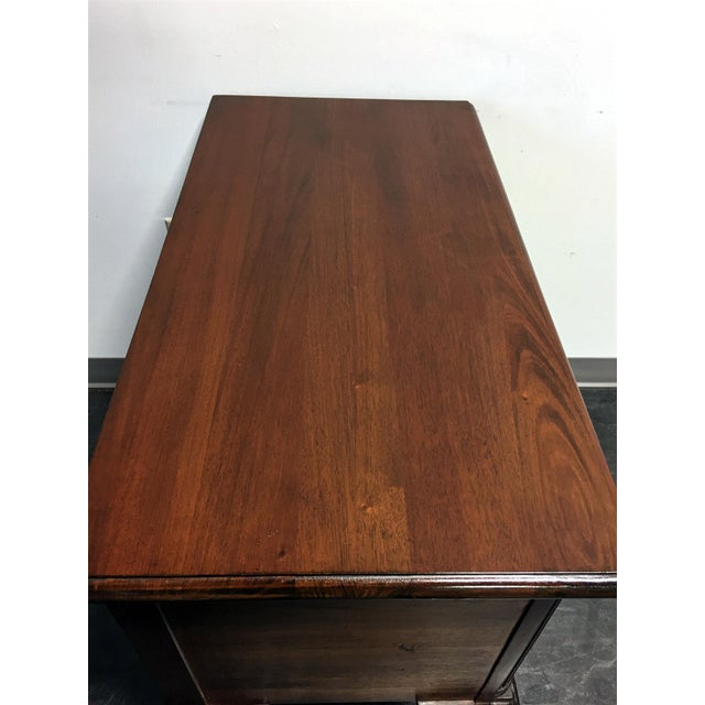 Wellington Hall Mahogany Chippendale Style Low Boy Chest - Image 11 of 11