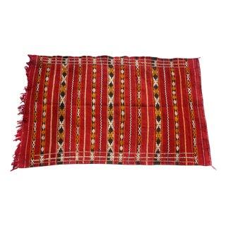"Moroccan Berber Tribal Kilim Rug - 2' 10"" x 4' 6"""