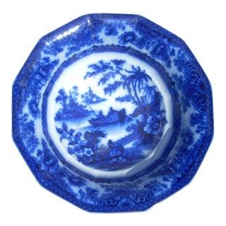 Flow Blue Wash Bowl