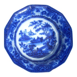 Flow Blue Wash Bowl