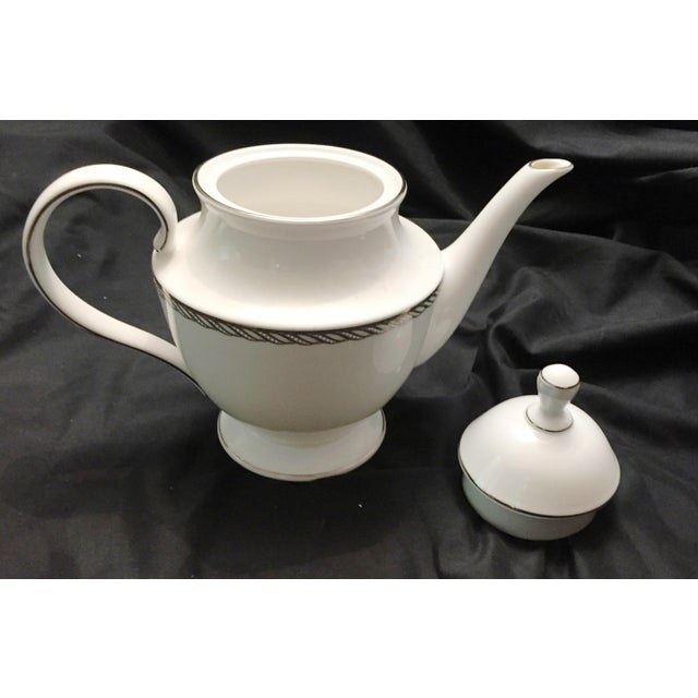 Lenox China Serpentine Teapot - Image 3 of 8
