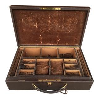 Hermes Vintage Calfskin Jewelry Case
