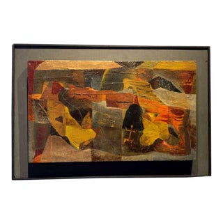 An Original Painting By American Artist Agnes Sims (1910 - 1990)
