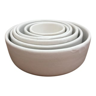 Stoneware Nesting Bowls - Set of 6