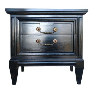Dixie Solid Wood Hollywood Regency Nightstand